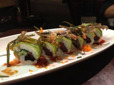 Treat yourself to Sushi Chinoise's special rolls!