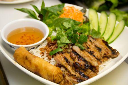 Rice Noodle Salad Bowl