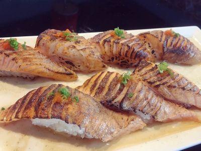 Seared Salmon Belly